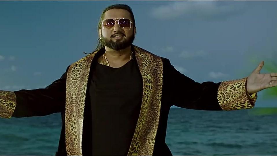 Get Honey Singh Hair Hairstyle In Single Makhna Song Trailer