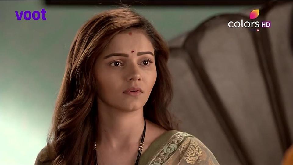 Rubina Dilaik Green Saree look Episode 487 style inspiration