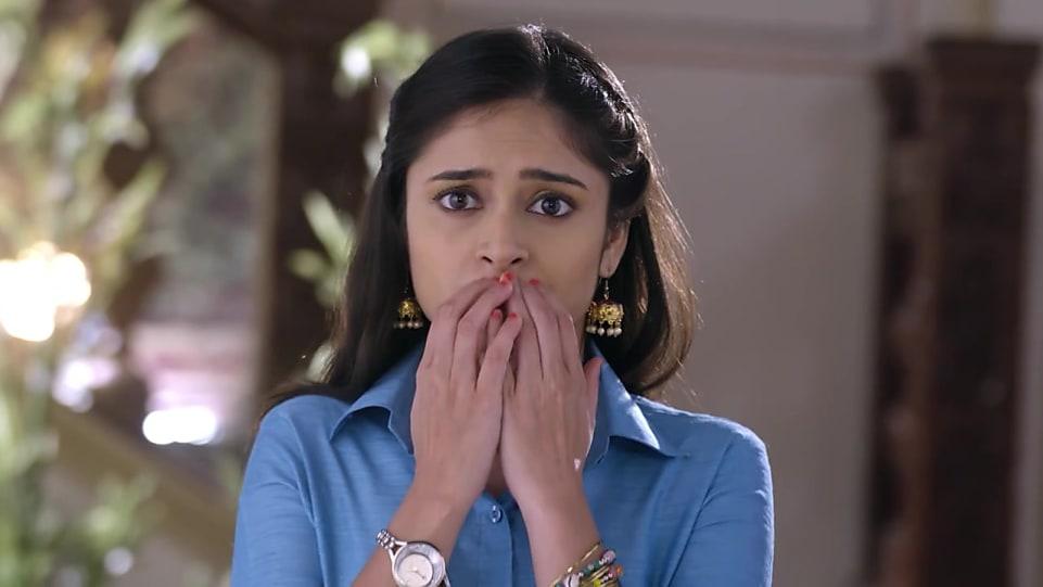Shristhi Mitra Blue Skirts look, Episode 8 style, Guddan Tumse Na Ho