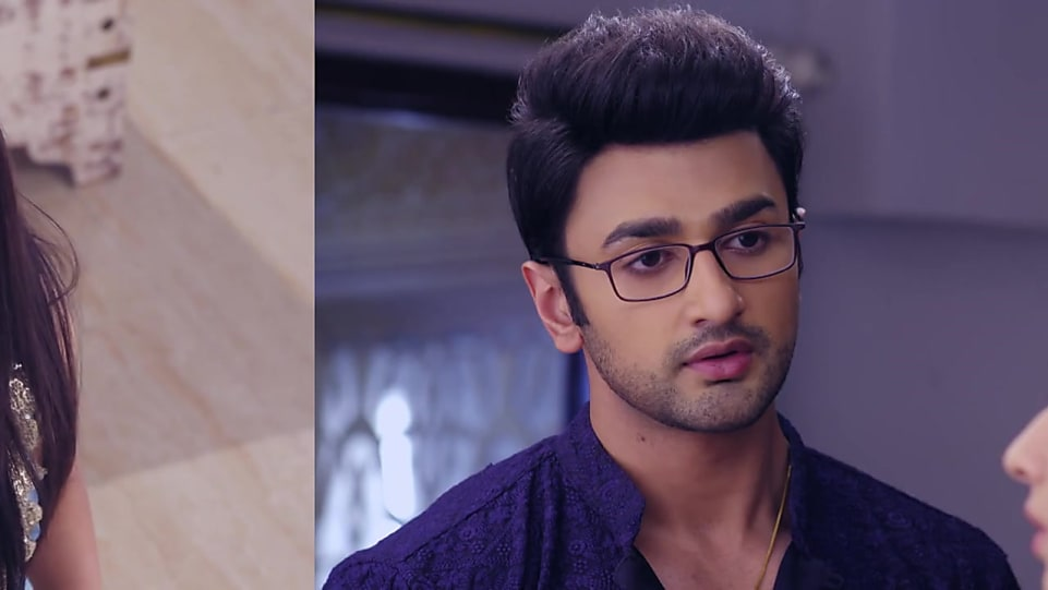 Nishant Malkani Black Frames matching with look from Episode