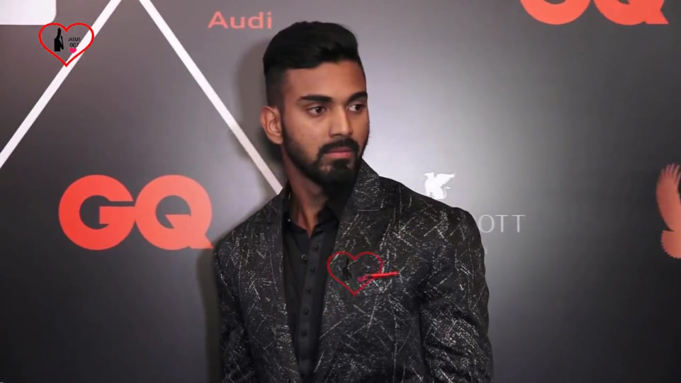 Kl rahul Black Shirt and Black Jeans look, Best Dressed Awards ...