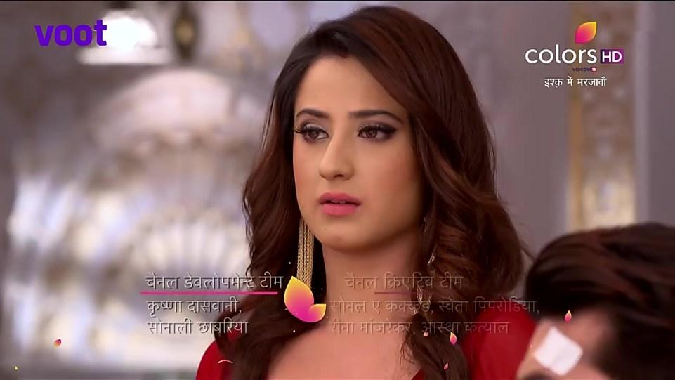 Alisha Panwar Red Dress look Episode 185 style inspiration | Ishq