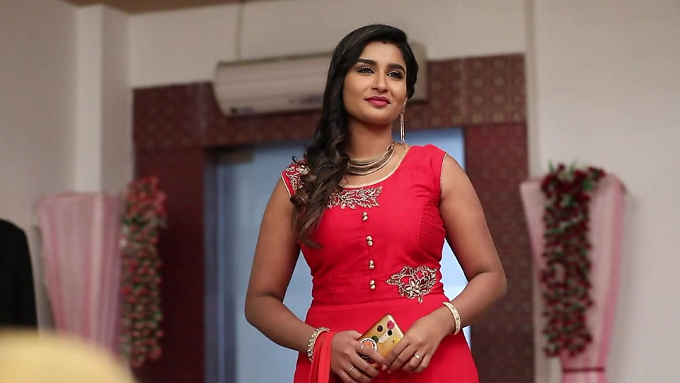 Reshma Reya Red Dress look Episode 305 style inspiration