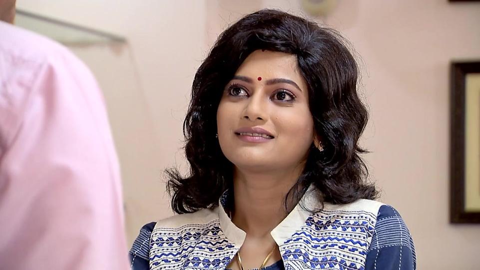Ushasi Others Jacket look, Episode 189 style, Bokul Kotha