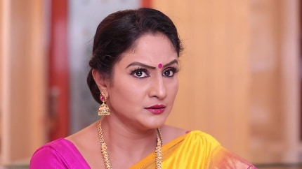 Amulya Omkar Pink Blouse and Pink Skirts look, Episode 158 style