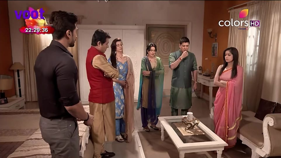 Preeto Harak Singh Pink Kurta and Blue Patiala Pants look, Episode