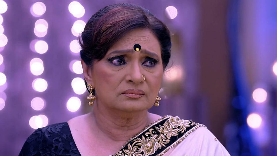 Neelam Mehra Black Blouse look, Episode 520 style, Kundali