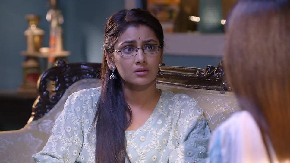 Sriti Jha Blue Kurta look Episode 1444 style inspiration