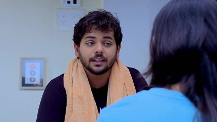 Purnima Talwalkar Black Kurta and Red Salwar look, Episode 647 style