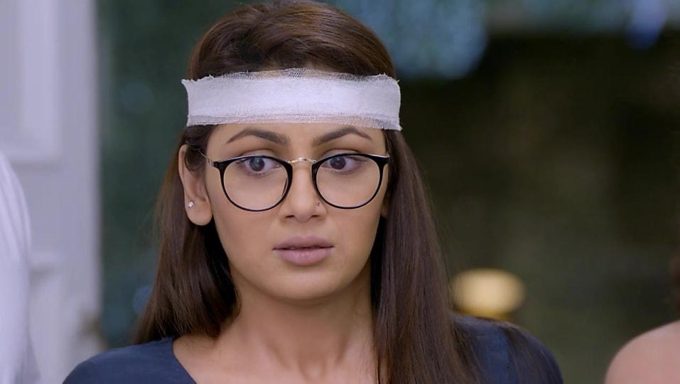 Sriti Jha Blue Kurta look, Episode 1172 style, Kumkum Bhagya