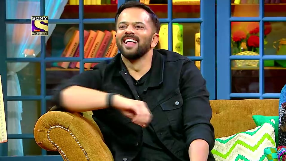 Rohit Shetty Black Jacket and Black Jeans look, Fun With