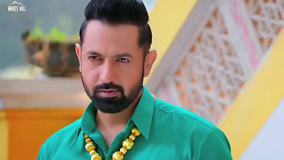 Gippy Grewal White Dhoti Look Kurta Chadra Style Carry On Jatta 2
