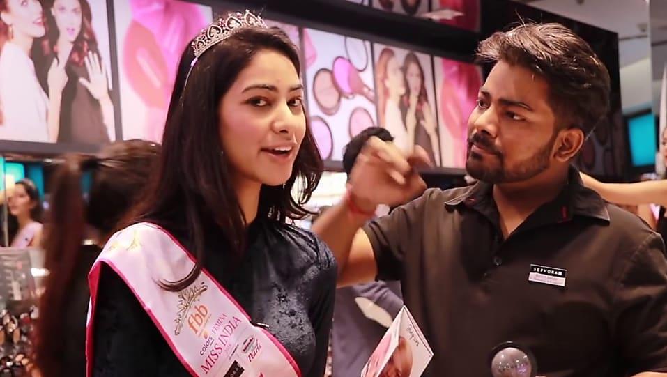 Get Sumita Bhandari Beauty look in Beauty Pageants   Miss