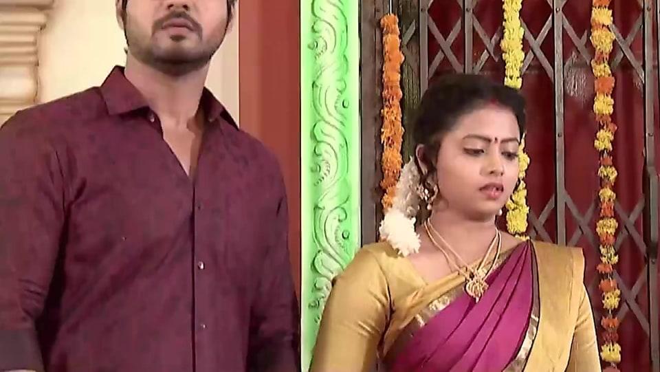 bd9256536d Geethanjali Chaitanya Pink Saree look Episode 464 style inspiration ...
