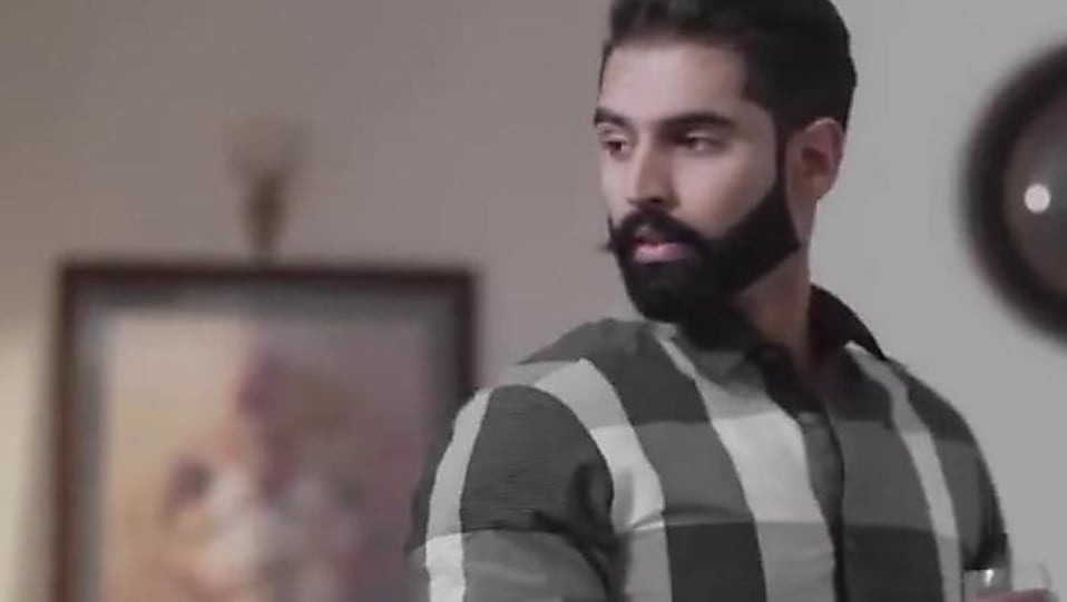 9a4cdfe3e Parmish Verma Silver Bracelet matching with look from Gumnaam ...