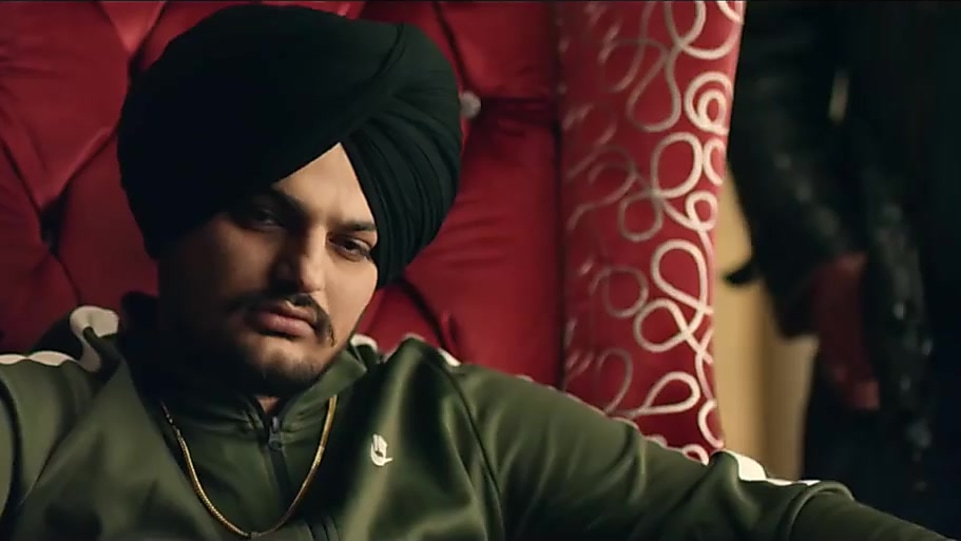 Sidhu Moose Wala Black Watch matching with look from Dark Love