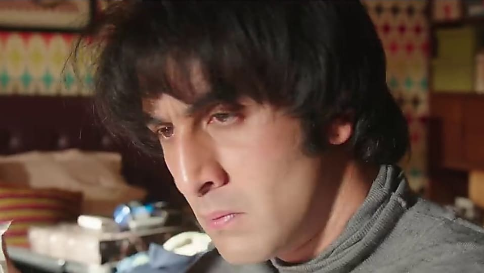 Ranbir Kapoor Grey Sweaters look, Ruby Ruby style, Sanju