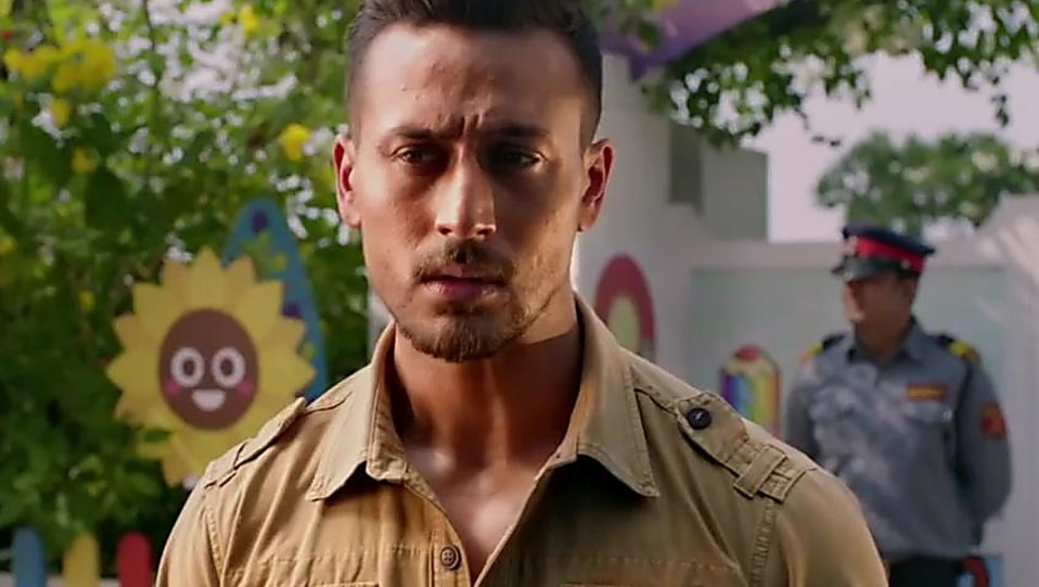 Tiger Shroff Orange Jeans Look Official Trailer Style Baaghi 2