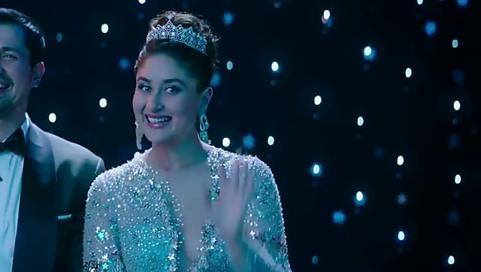 Veera Di Wedding.Kareena Kapoor Khan Blue Dress Look Trailer Style Inspiration