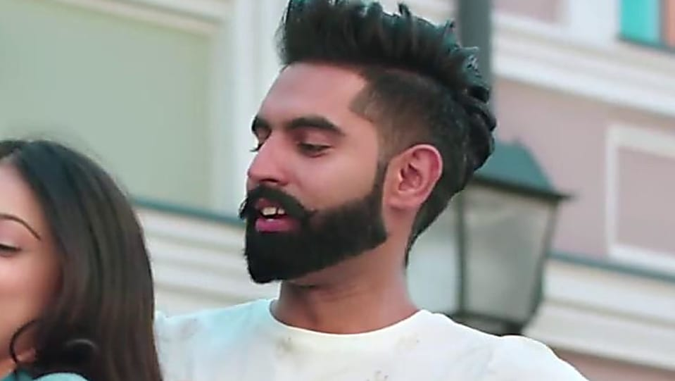 Parmish Verma White T Shirt And Black Joggers Look Tere Ton Begair
