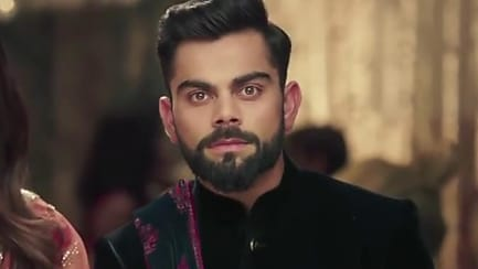 Get Virat Kohli Hair Hairstyle In Manyavar Collections Naye Vaade