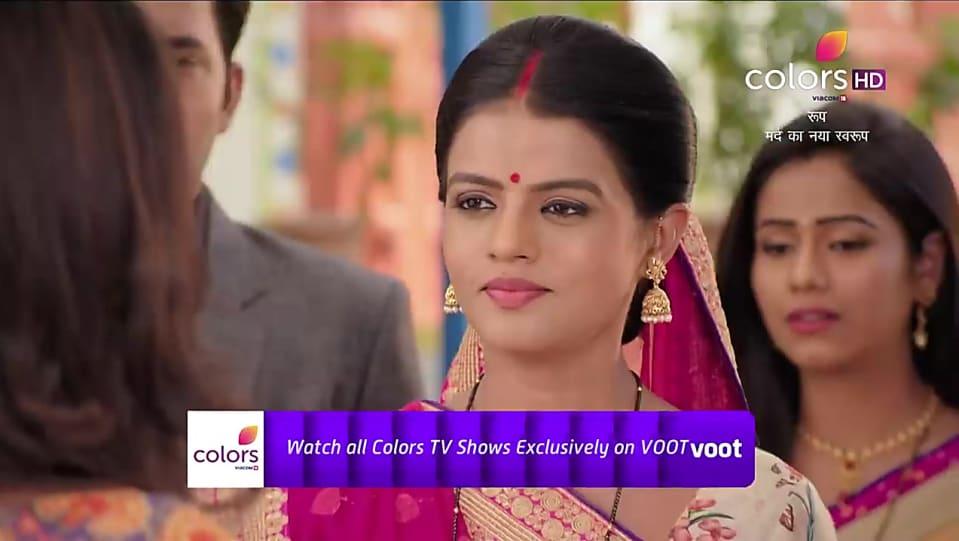 Mitali Nag Maroon Saree look, Promo Serial style, Roop