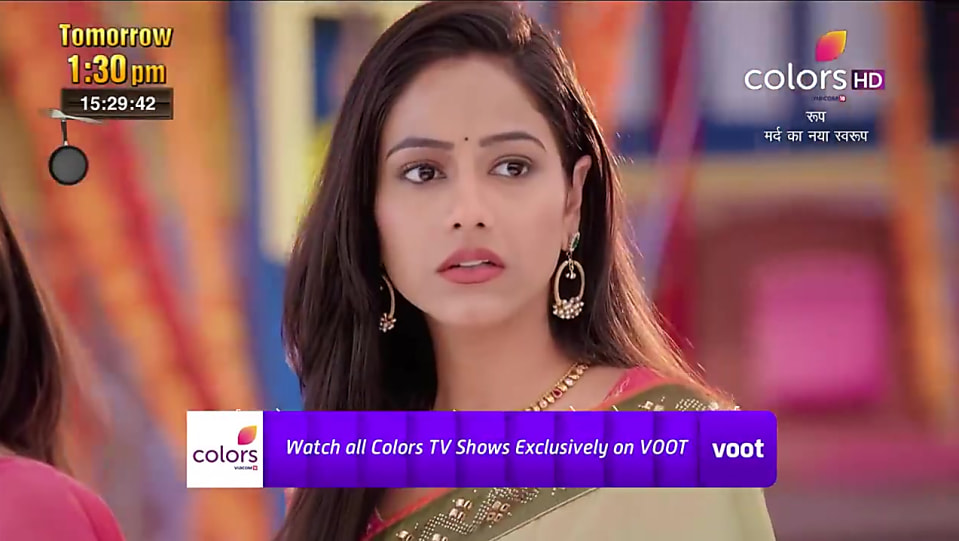 Shubhanshi Singh Olive Saree look Promo Serial style