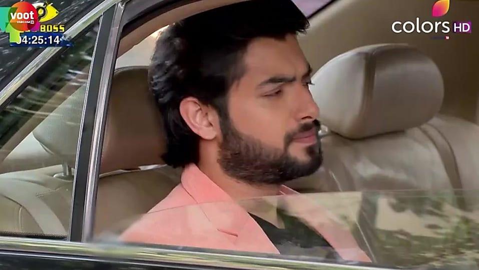 Sharad Malhotra Pink Coat look, Episode 410 style, Kasam - Tere