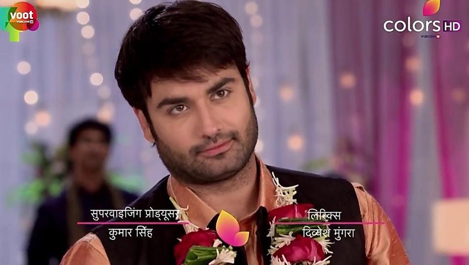Vivian Dsena , , matching with look from Episode 329, Shakti - Ek