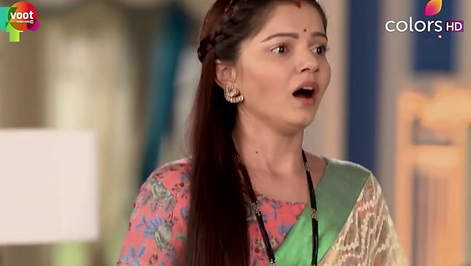 Rubina Dilaik Green Saree look, Episode 345 style, Shakti - Ek