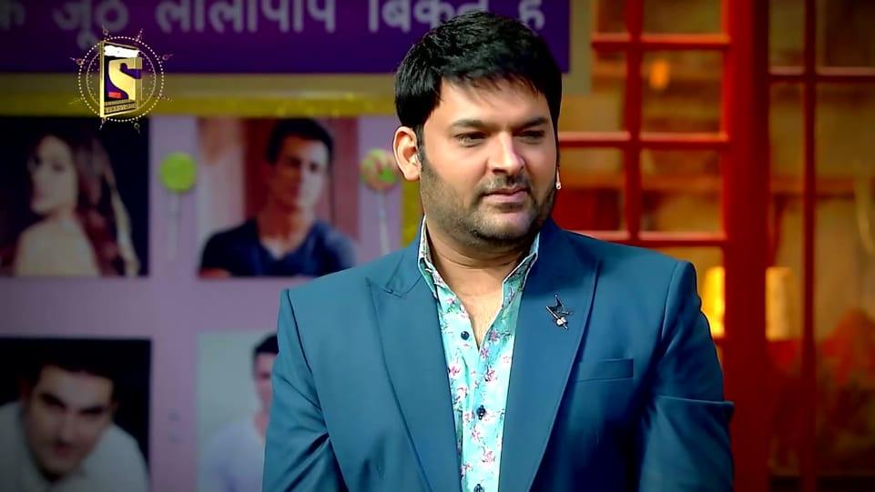 Kapil Sharma Blue Suits look The Kapil Sharma Show Sanju