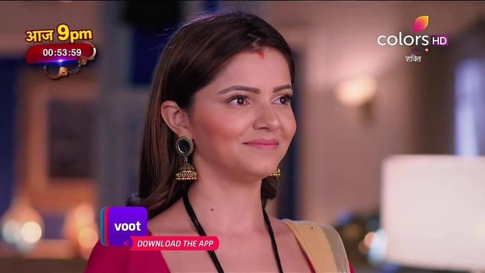 Rubina Dilaik Pink Blouse look Promo style inspiration   Shakti