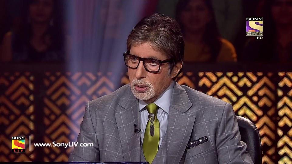 Amitabh Bachchan Blue Shirt look Episode 19 style