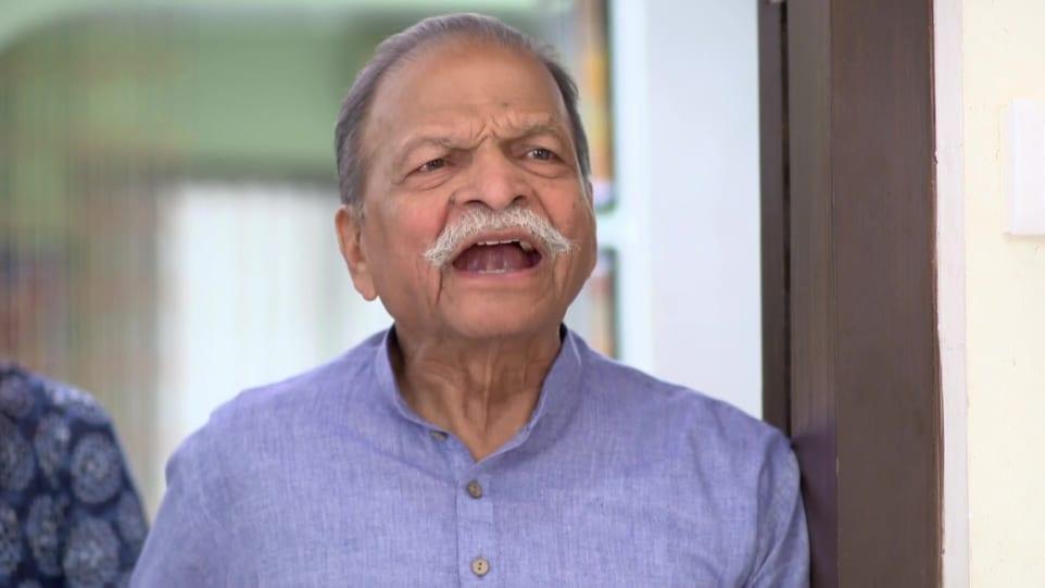 ravi patwardhan in agga bai sasubai episode 94 2019