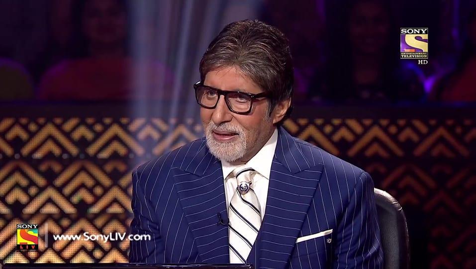 Amitabh Bachchan White Shirt look, Episode 14 style, Kaun