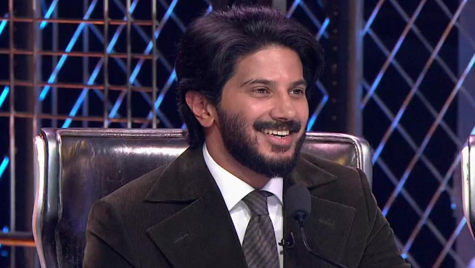 Celebrity Hairstyle Of Dulquer Salmaan From Dance India Dance Episode 25 2019 Charmboard