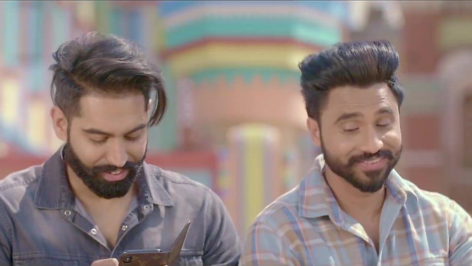 022327e3c Parmish Verma Silver Kada matching with look from Teri Yaad ...