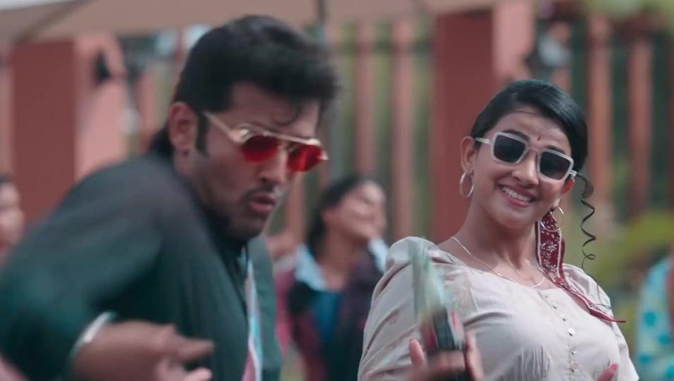 Rashmika Mandanna Celebrity Style In Singles Anthem Bheeshma 2020 From Singles Anthem Charmboard