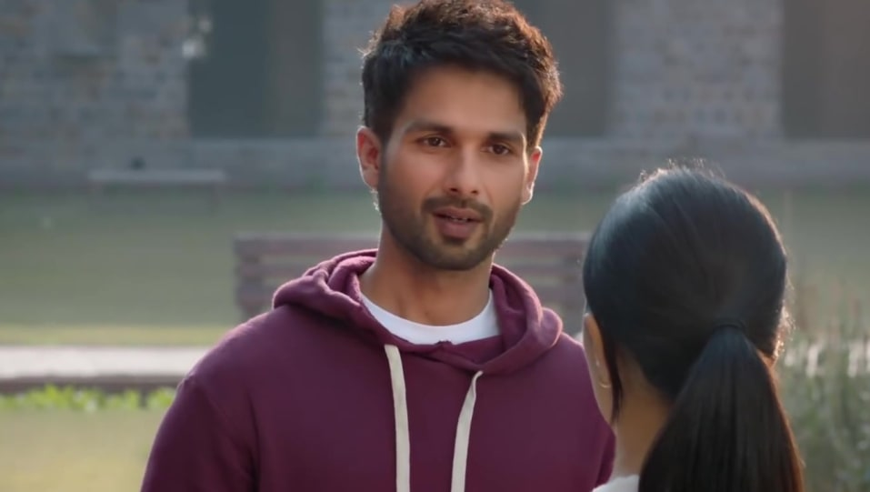 Celebrity Hairstyle Of Shahid Kapoor From Official Teaser Kabir Singh 2019 Charmboard