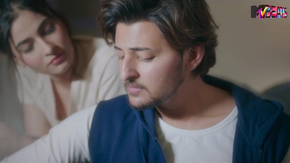 Celebrity Hairstyle Of Darshan Raval From Kaash Aisa Hota Single 2019 Charmboard