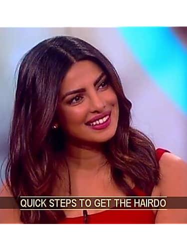 Get Priyanka Chopra Hair Hairstyle In The View Priyanka Chopra