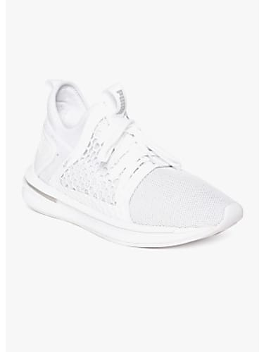 aa531bef05c buy puma puma men white mesh ignite limitless sr netfit mid-top running  shoes online