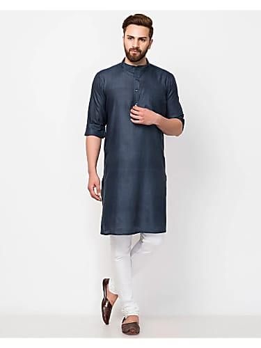 Zuber K  Khan Blue Patiala Pants look, Episode 162 style