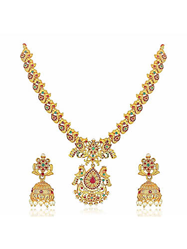 C I D Sakunthala Gold Jewellery Set matching with look from Episode