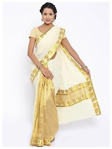 Deepika Padukone Gold Saree look Titli style inspiration ...