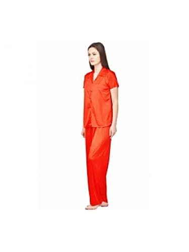 33d83284443 consider making the look your own with boosah red plain collared 2 piece  satin payjama night