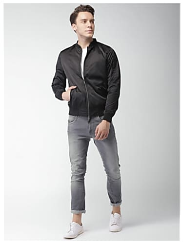 c9216381d The PropheC Black Jacket and Grey Jeans look, Taur style inspiration ...