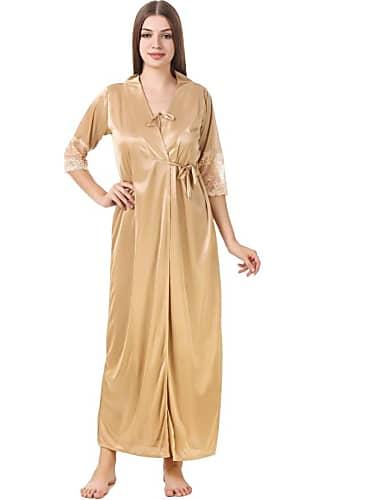 d268dd5104 Sheen Dass Nude Nightdress look Episode 283 style inspiration ...