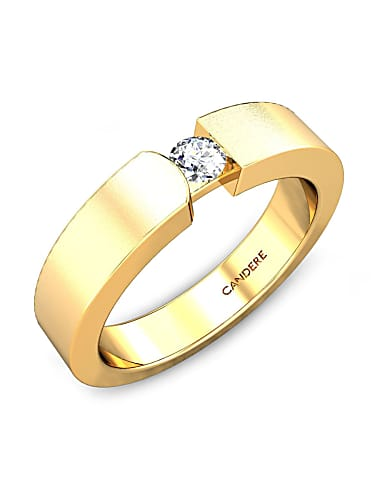 fa51cae0ce03 divinestar diamond wedding ring for her - candere by kalyan jewellers