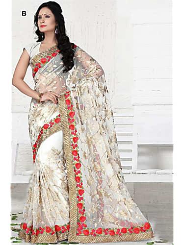 Sehrish Ali White Saree look Episode 64 style inspiration